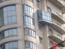 ПВХ - высотные балконы с демонтажем стены